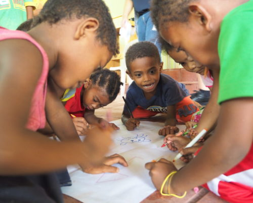 color your life project for children